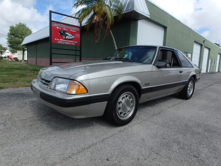 Used 1990 Ford Mustang LX 5.0 for sale $8,900 at Rose Motorsports, Inc. in Fort Myers FL