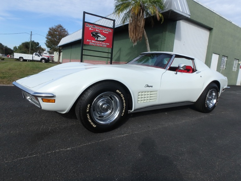 Used 1972 Chevy Corvette for sale $23,900 at Rose Motorsports, Inc. in Fort Myers FL