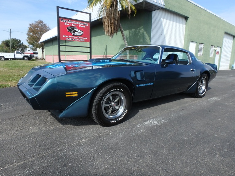 Used 1979 Pontiac Trans Am for sale $14,900 at Rose Motorsports, Inc. in Fort Myers FL