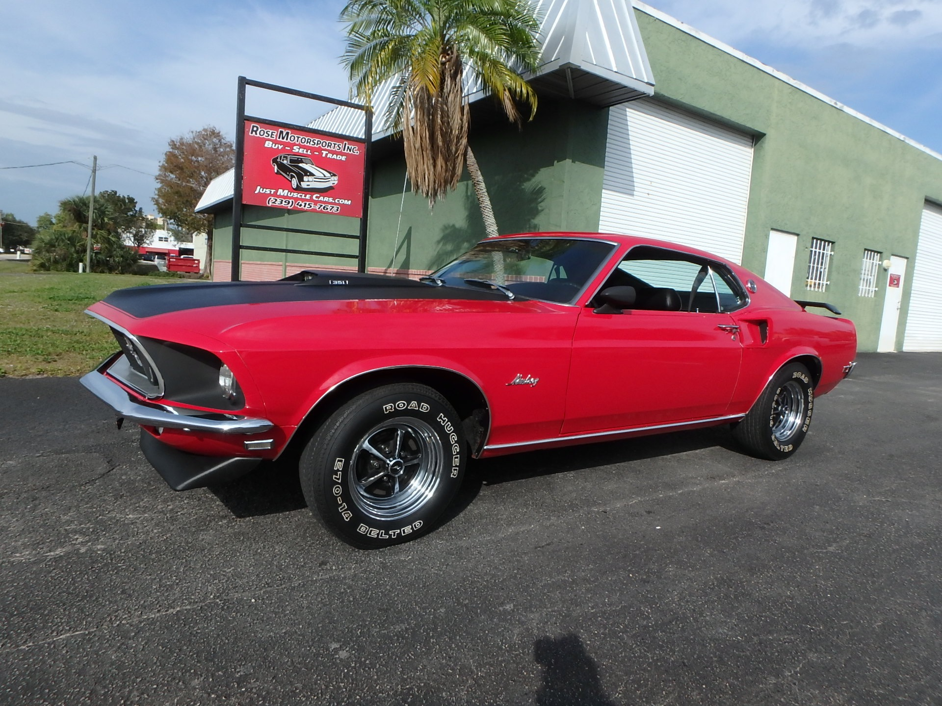 Used 1969 Ford Mustang Fastback