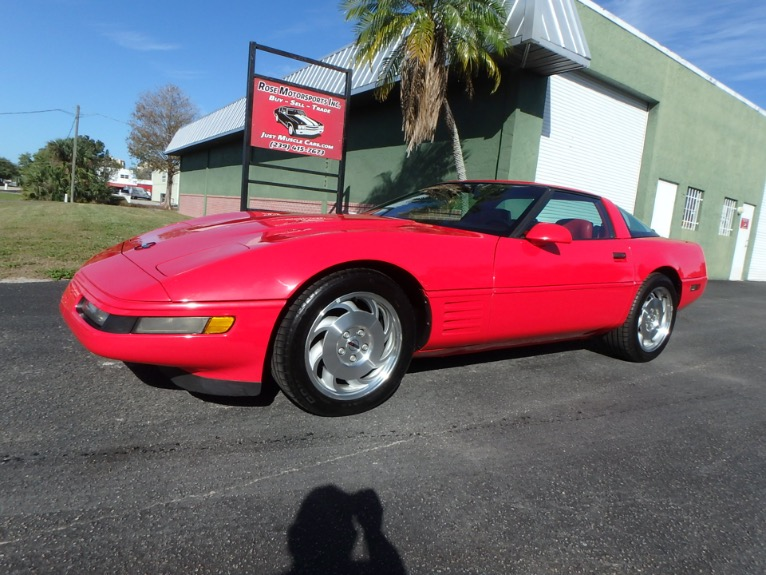 Used 1993 Chevrolet Corvette for sale $10,900 at Rose Motorsports, Inc. in Fort Myers FL