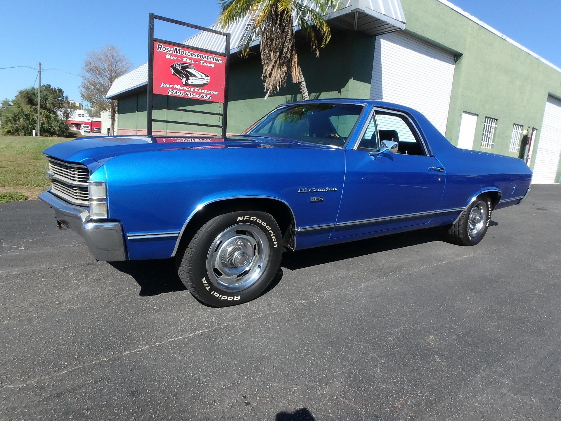 Used 1971 Chevy El Camino