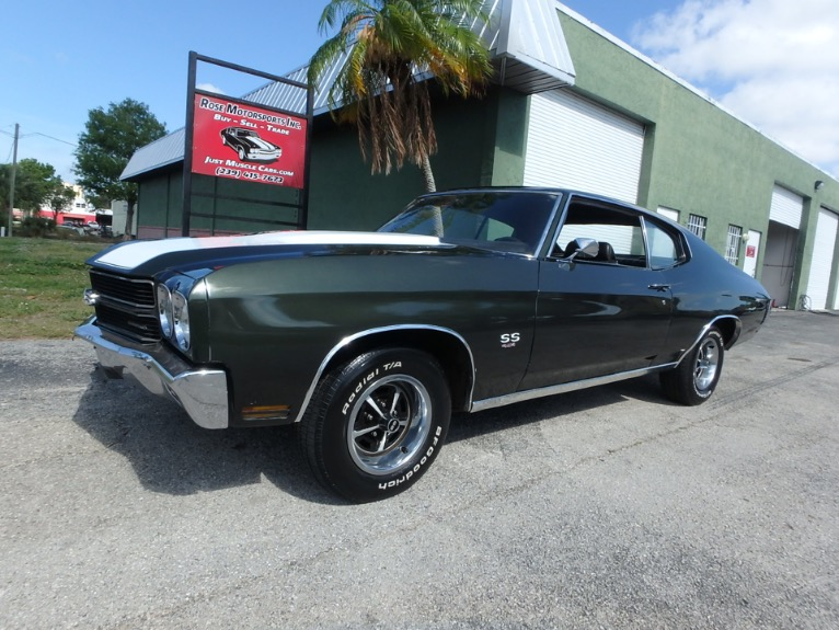 Used 1970 Chevy Chevelle SS for sale $24,900 at Rose Motorsports, Inc. in Fort Myers FL