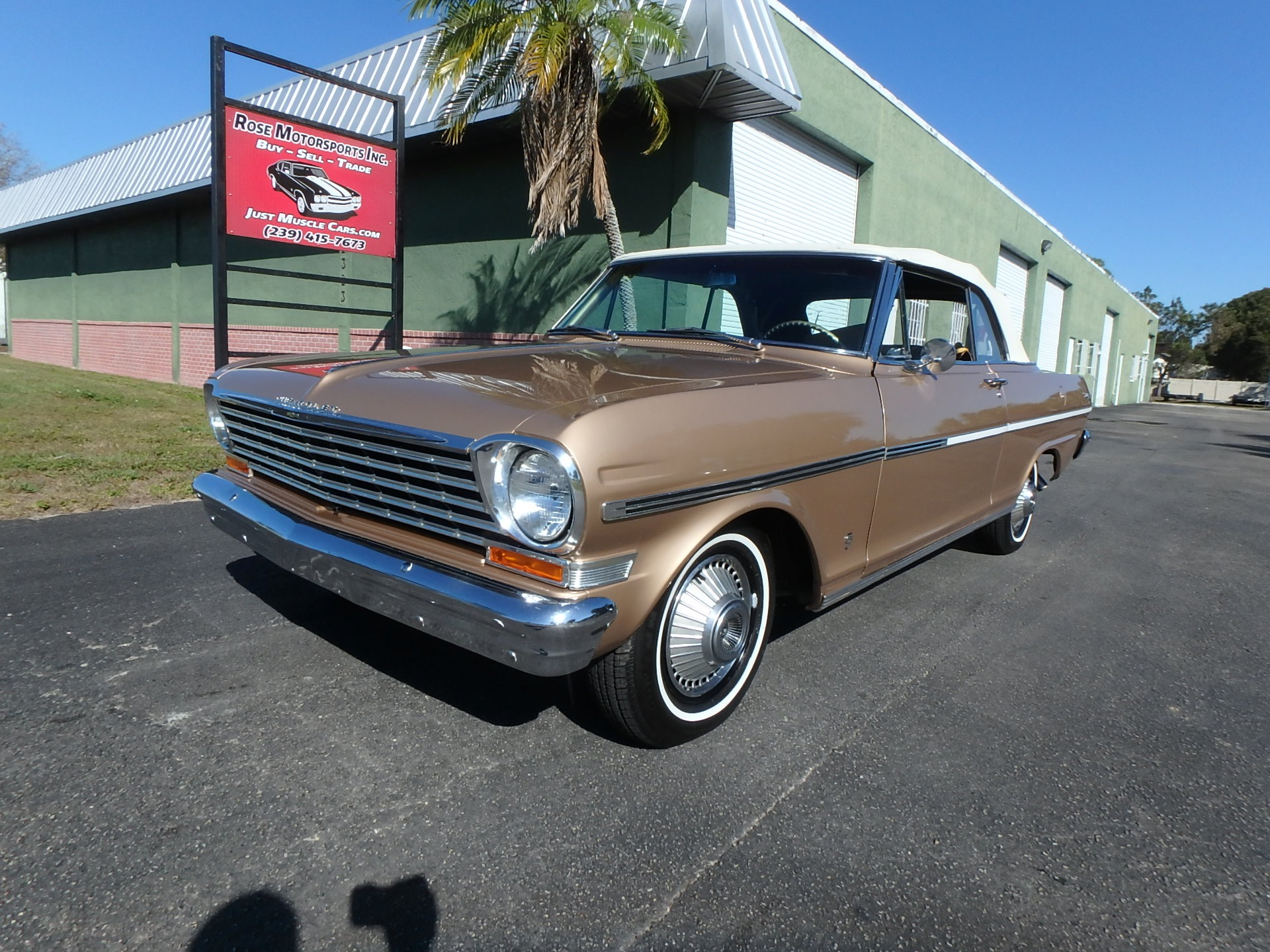 Used 1963 Chevy II Nova Convertible