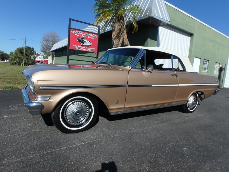 Used 1963 Chevy II Nova Convertible for sale $23,900 at Rose Motorsports, Inc. in Fort Myers FL