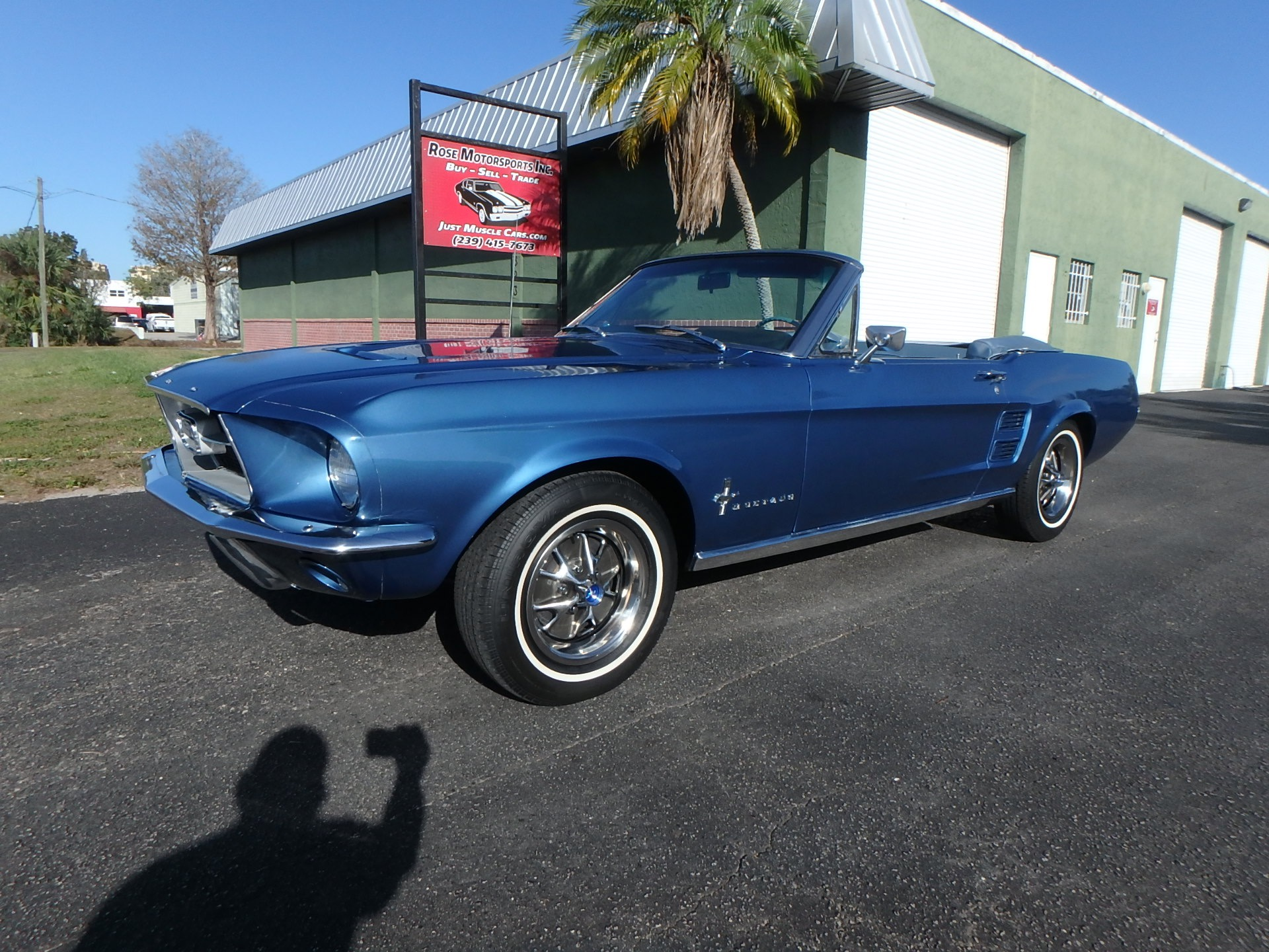 Used 1967 Ford Mustang Convertible For Sale 25 900 Rose Motorsports Inc Stock 2462