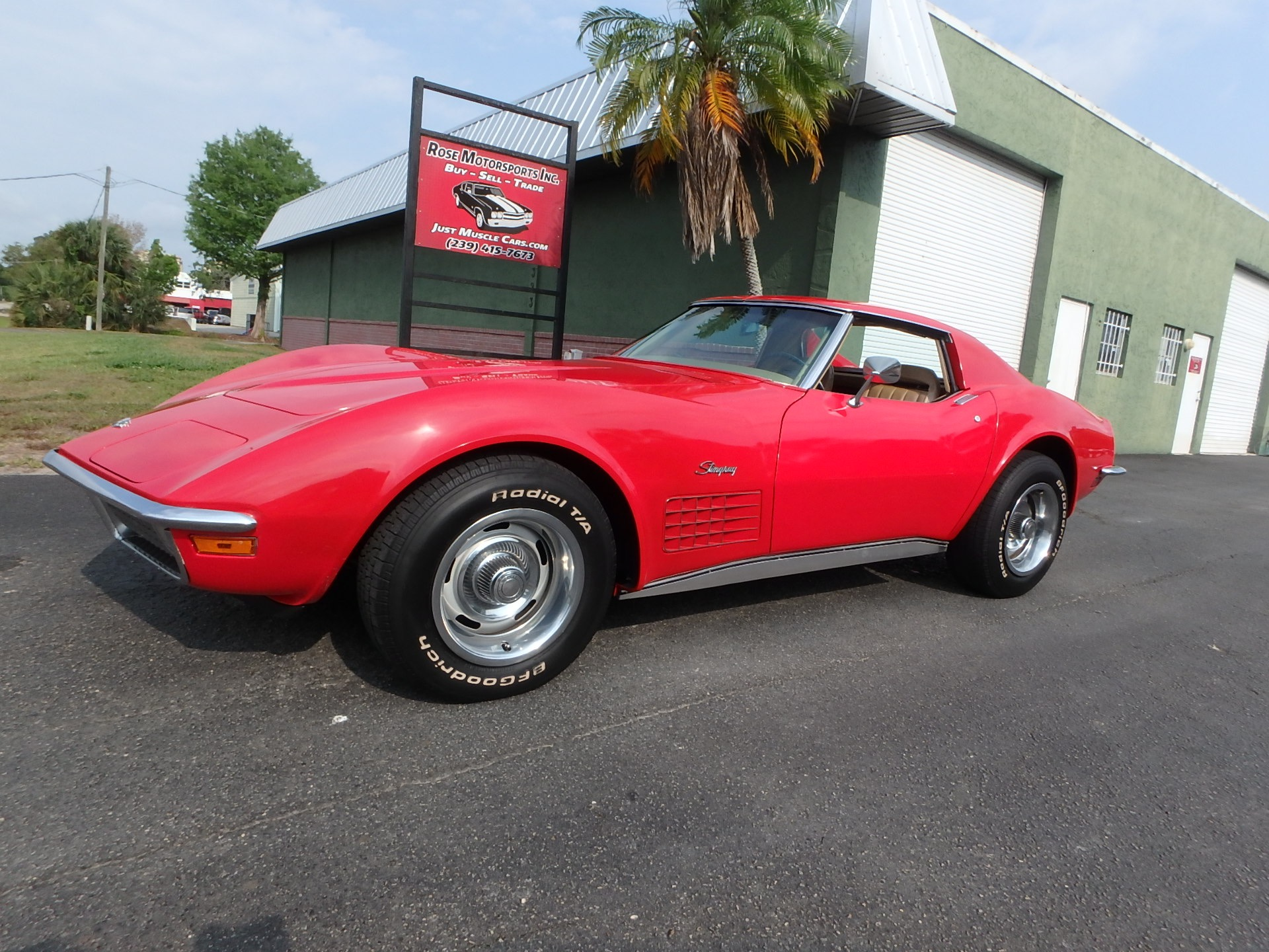 Used 1970 Chevy Corvette T Tops
