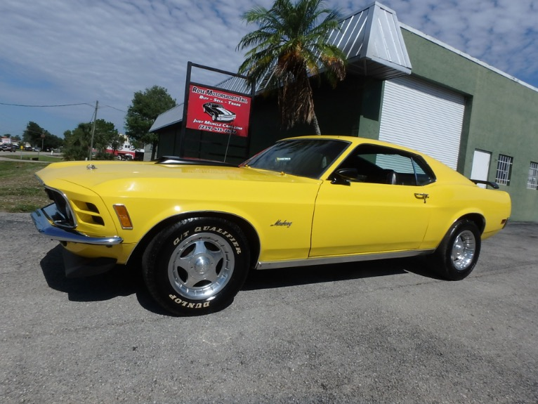Used 1970 Ford Mustang Fastback for sale $26,900 at Rose Motorsports, Inc. in Fort Myers FL
