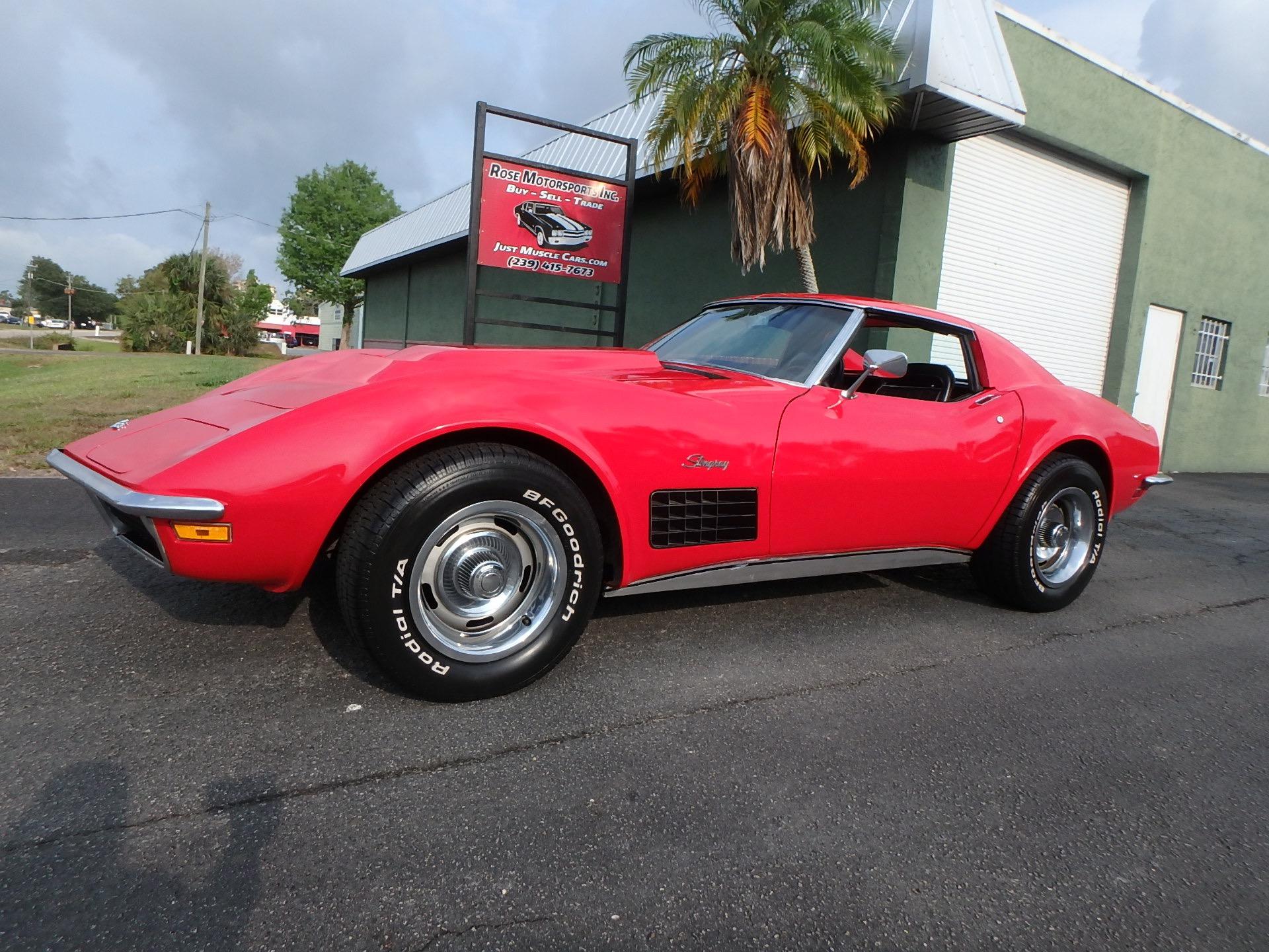 Used 1971 Chevy Corvette T Top