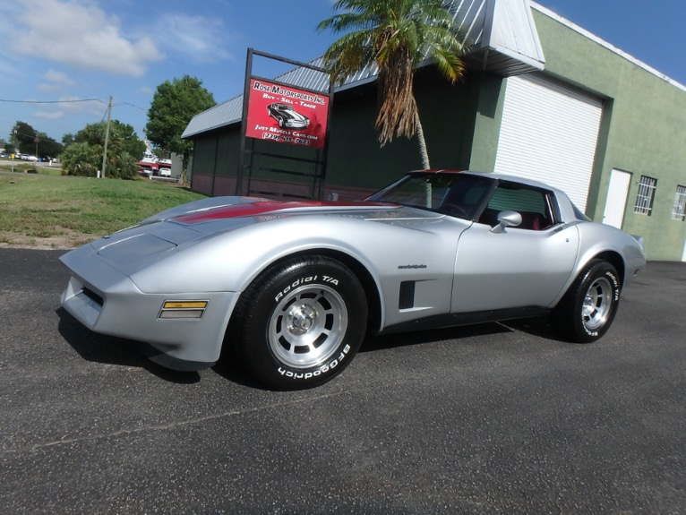 Used 1982 Chevrolet Corvette for sale $11,900 at Rose Motorsports, Inc. in Fort Myers FL