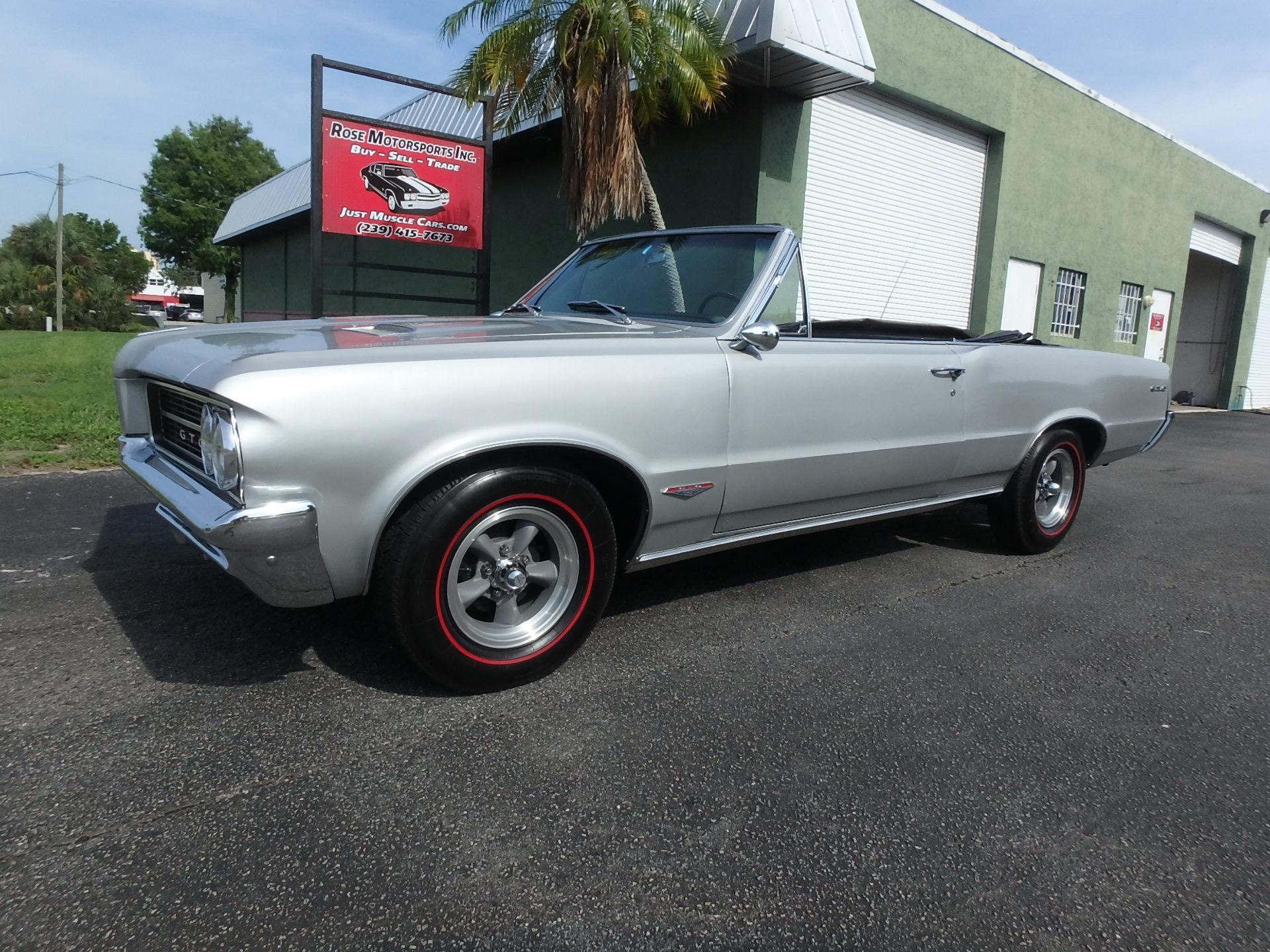 Used 1964 Pontiac GTO Convertible