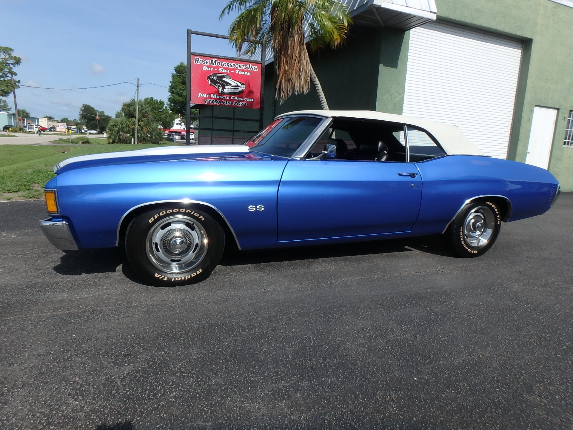 Used 1972 Chevy Chevelle SS Convertible