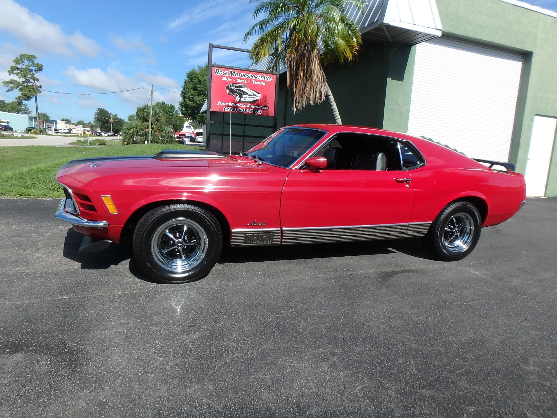 Used 1970 Mustang Mach I
