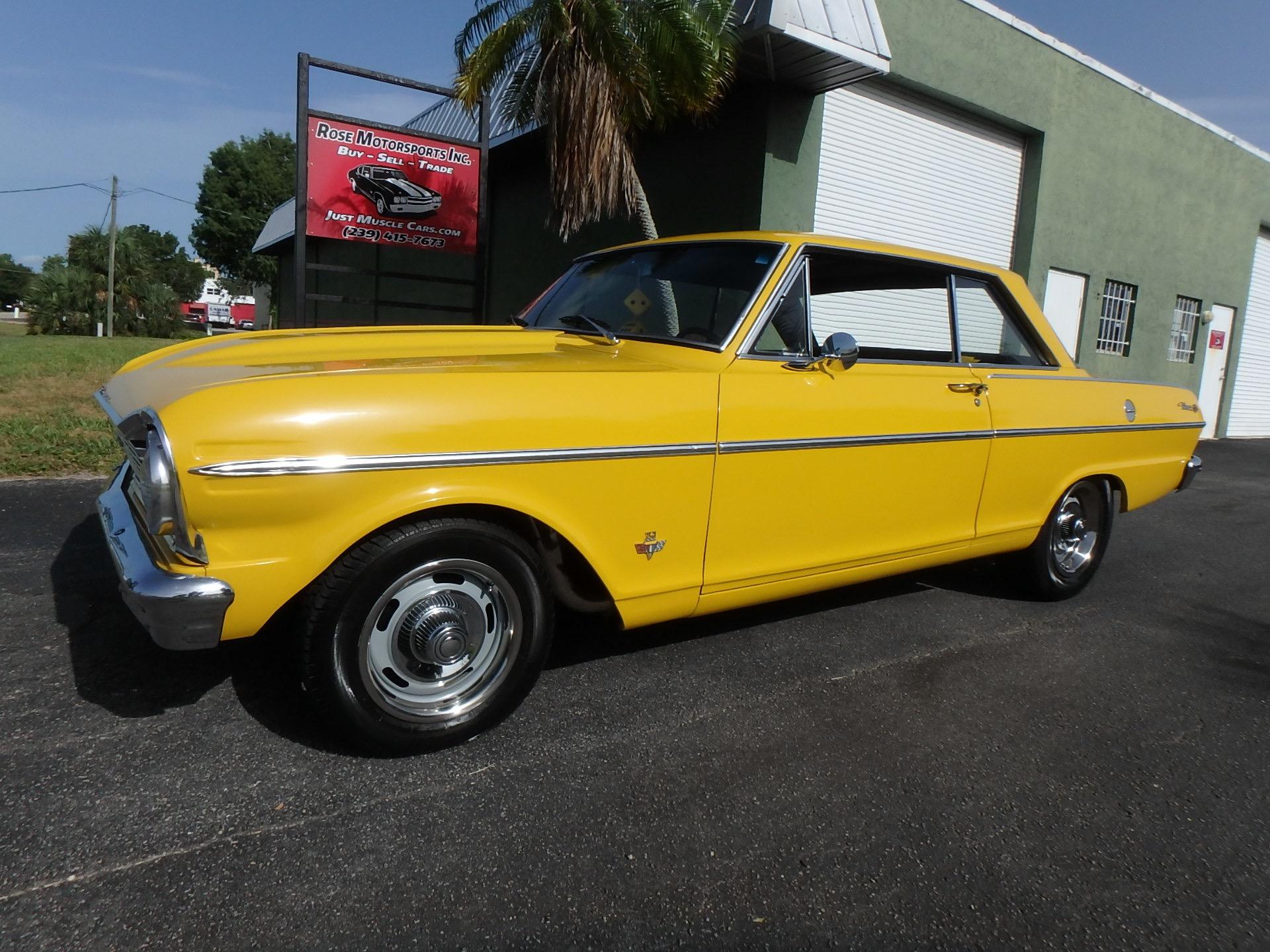 Used 1965 Chevy Nova SS383