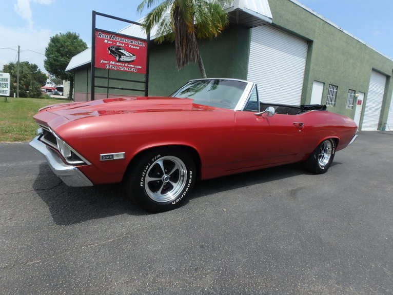 Used 1968 Chevy Chevelle SS Convertible for sale $23,900 at Rose Motorsports, Inc. in Fort Myers FL