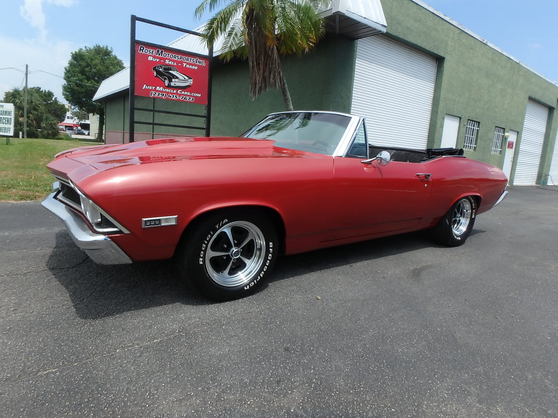 Used 1968 Chevy Chevelle SS Convertible