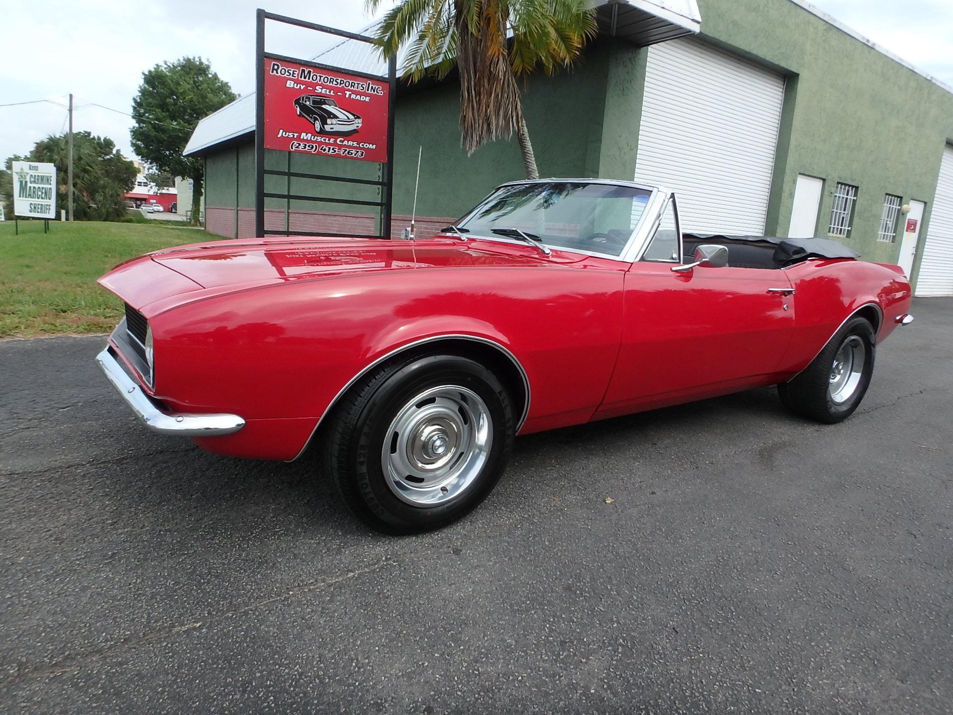 Used 1967 Chevy Camaro Convertible