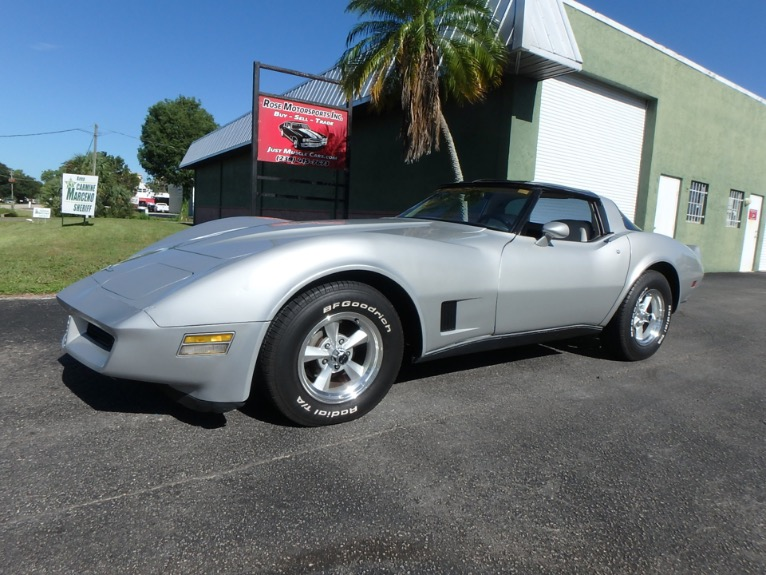 Used 1980 Chevy Corvette for sale $10,900 at Rose Motorsports, Inc. in Fort Myers FL