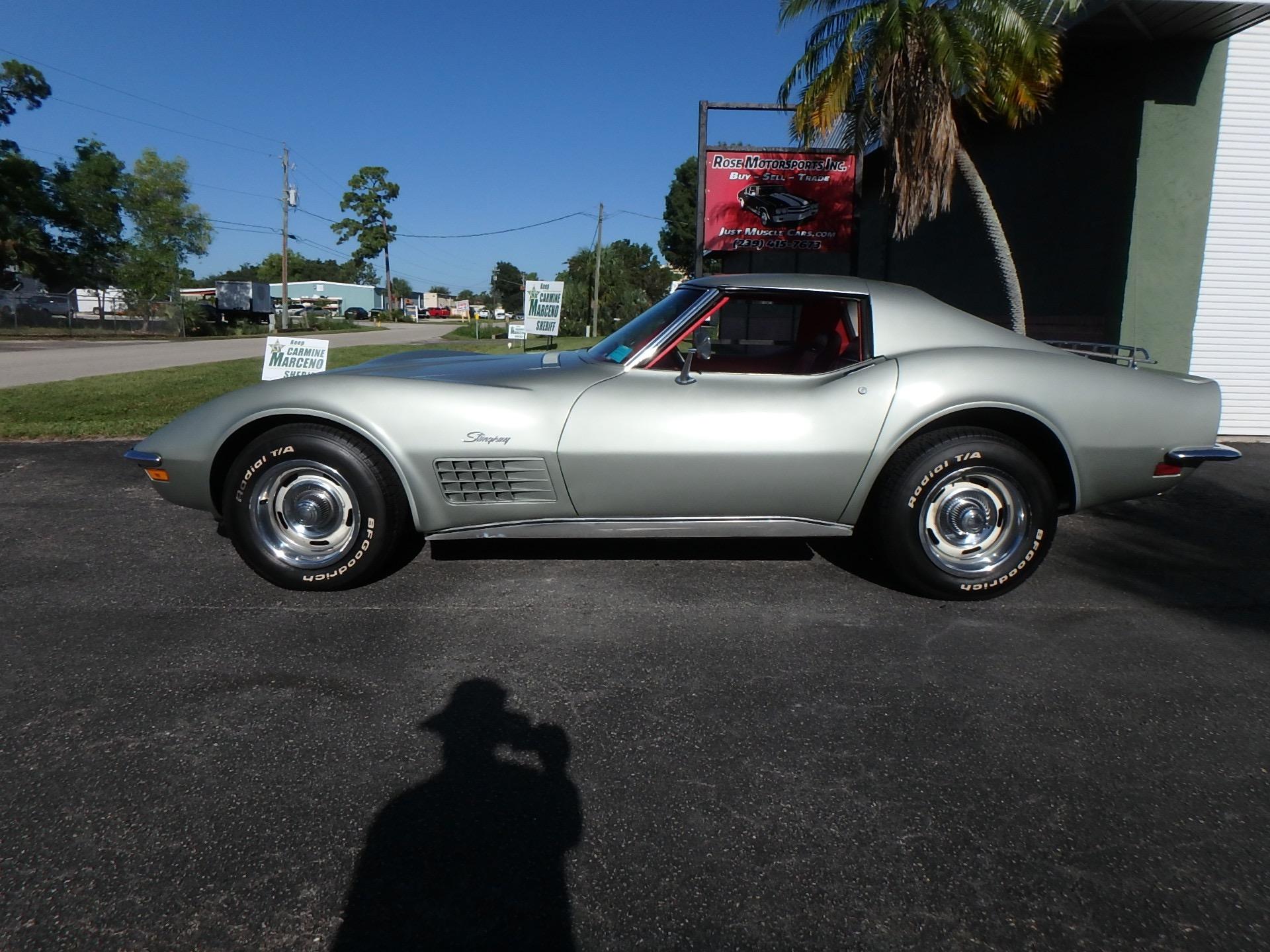 Used 1972 Chevy Corvette Stingray
