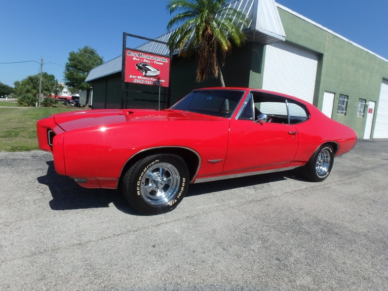 Used 1968 Pontaic GTO Clone for sale $21,500 at Rose Motorsports, Inc. in Fort Myers FL