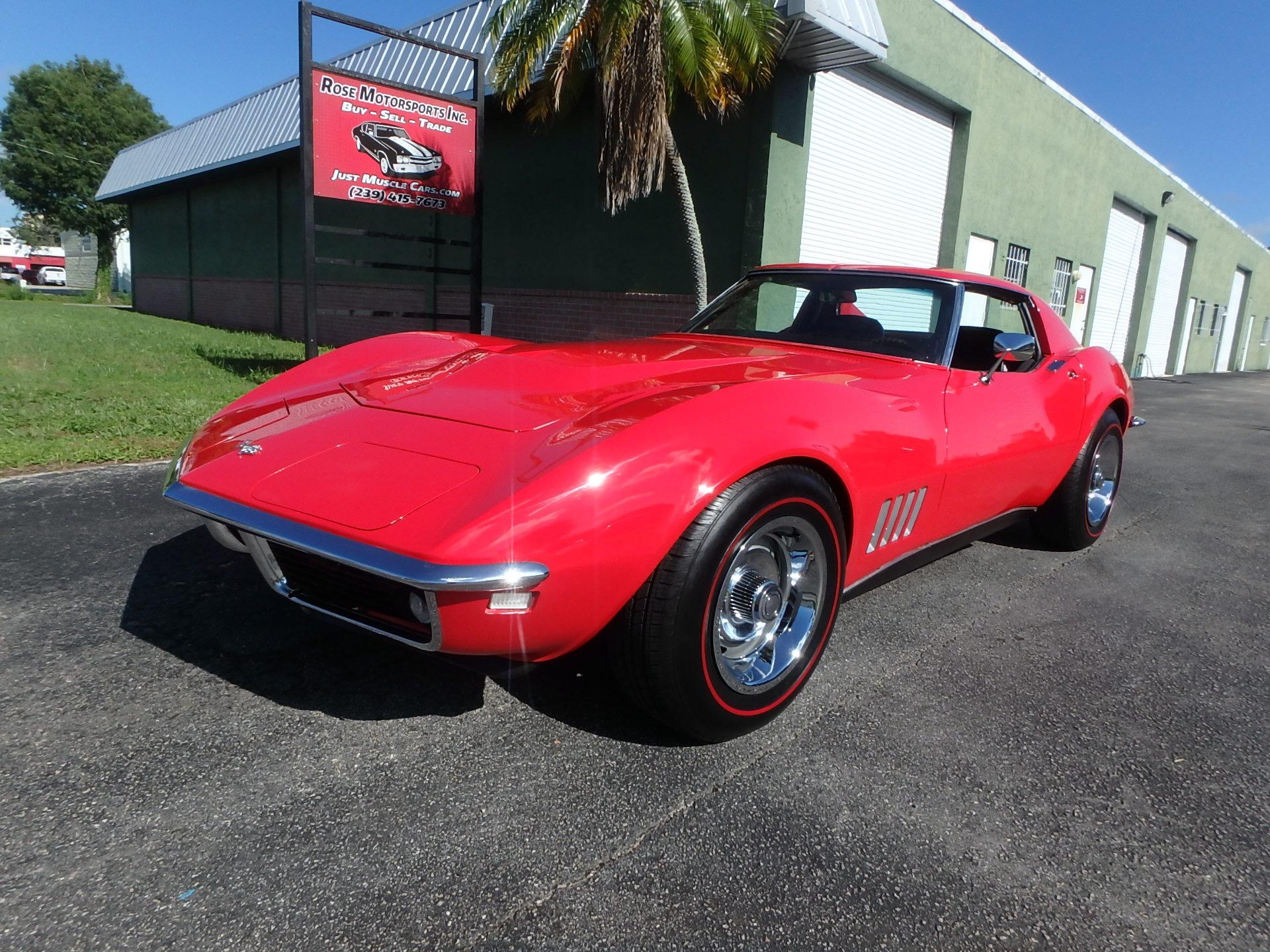 Used 1968 Chevy Corvette Stingray