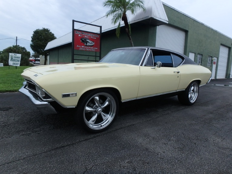 Used 1968 Chevy Chevelle SS396 for sale $29,900 at Rose Motorsports, Inc. in Fort Myers FL