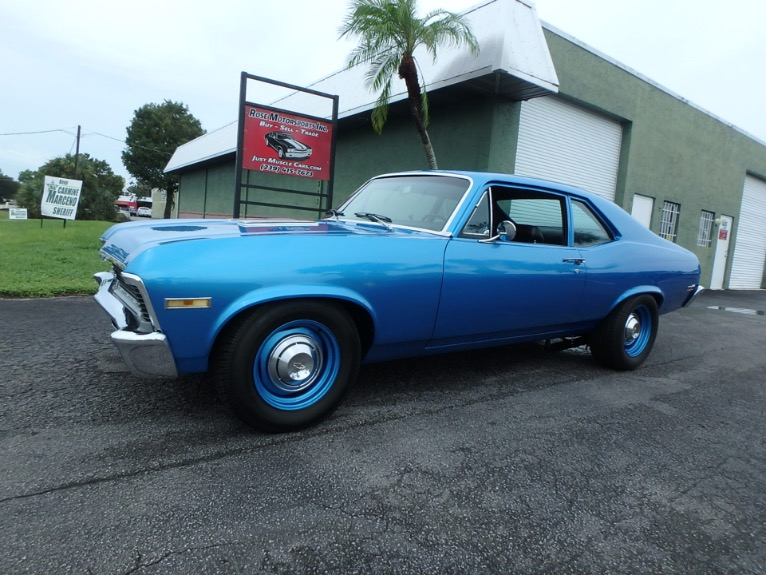 Used 1971 Chevy Nova SS for sale $32,500 at Rose Motorsports, Inc. in Fort Myers FL