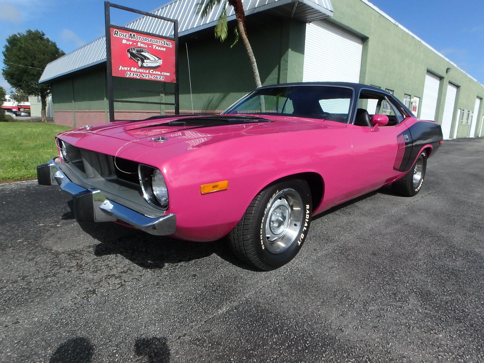 Used 1973 Plymouth Cuda