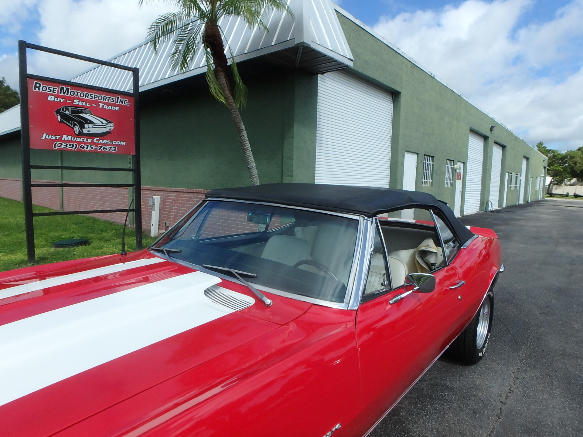 Used 1967 Chevy Camaro RS Convertible