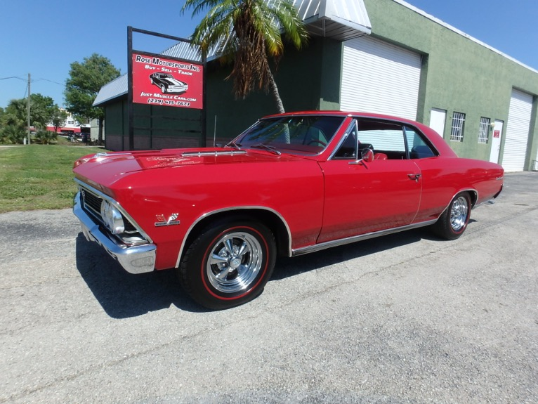 Used 1966 Chevy Chevelle SS396 for sale $36,500 at Rose Motorsports, Inc. in Fort Myers FL