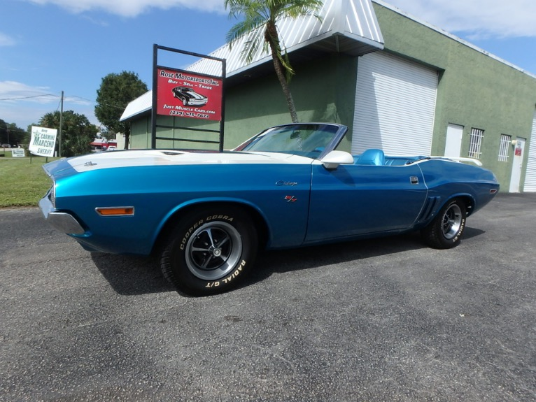 Used 1970 Dodge Challenger Convertible for sale $39,000 at Rose Motorsports, Inc. in Fort Myers FL
