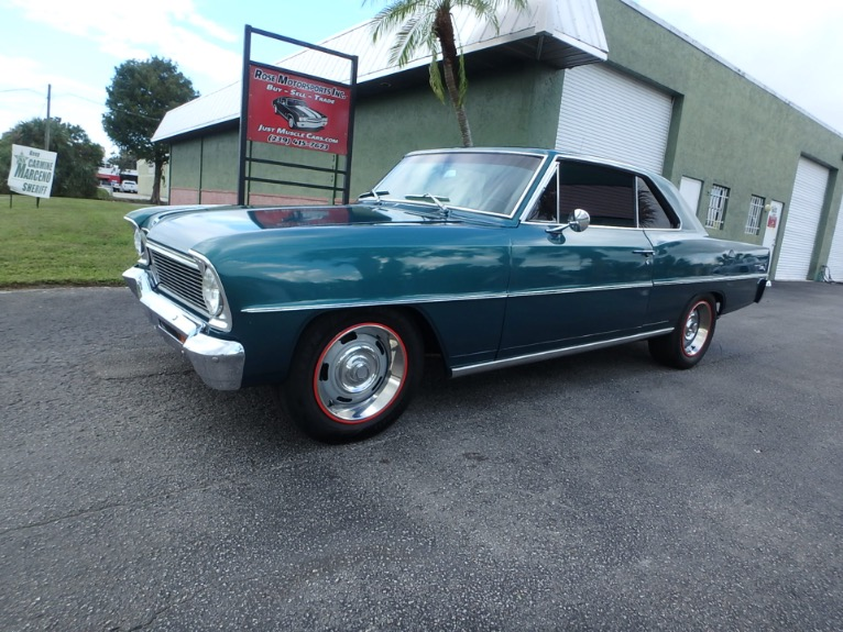 Used 1966 Chevy II Nova for sale $31,000 at Rose Motorsports, Inc. in Fort Myers FL