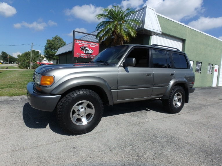 Used 1997 Toyota Land Cruiser for sale $9,500 at Rose Motorsports, Inc. in Fort Myers FL
