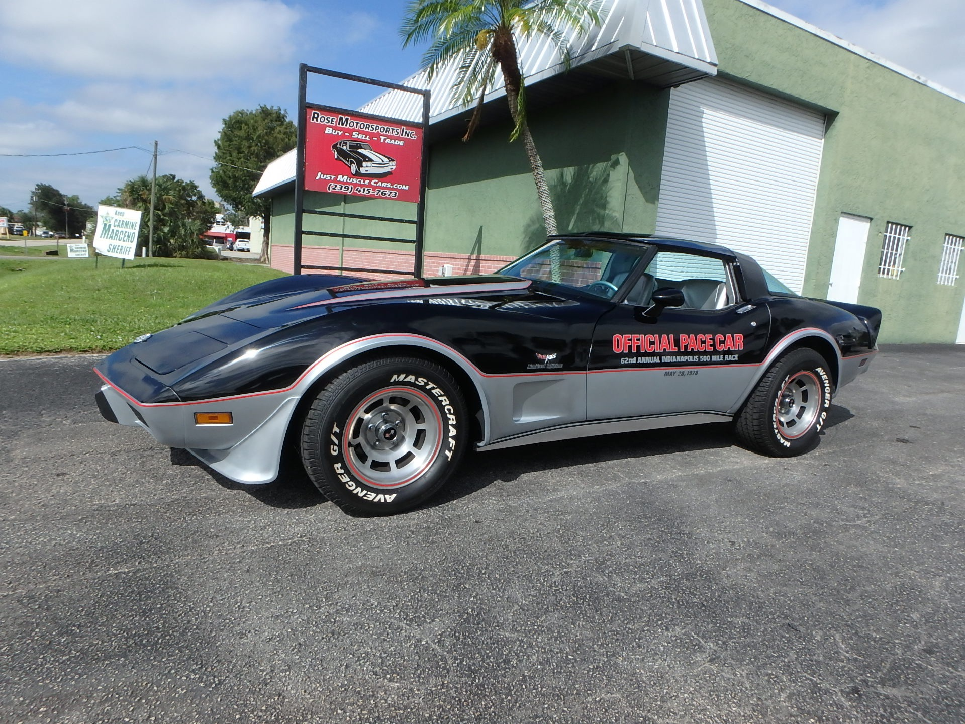 Used 1978 Chevy Corvette Indy Pace Car