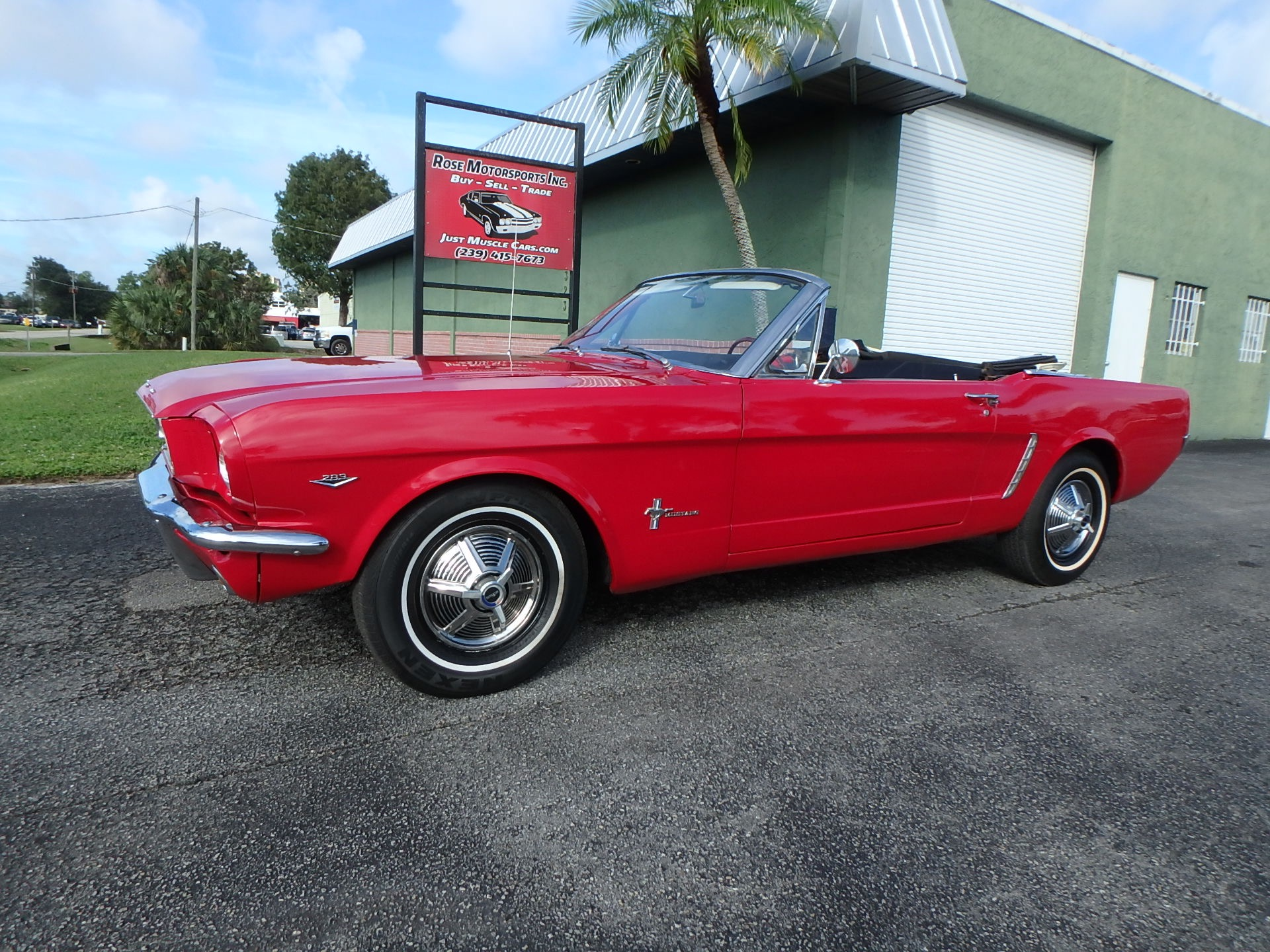 Used 1965 Ford Mustang Convertible