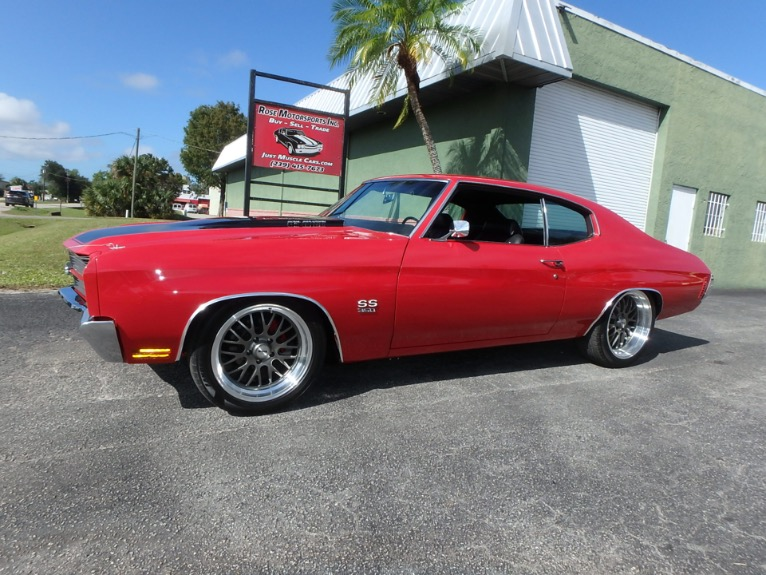 Used 1970 Chevy Chevelle SS for sale $41,500 at Rose Motorsports, Inc. in Fort Myers FL