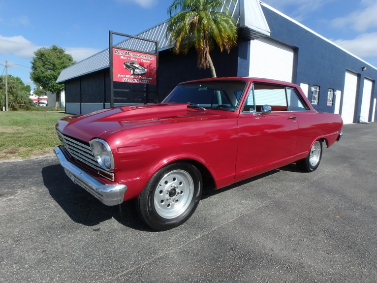 Used 1964 Chevy Nova SS for sale $19,900 at Rose Motorsports, Inc. in Fort Myers FL