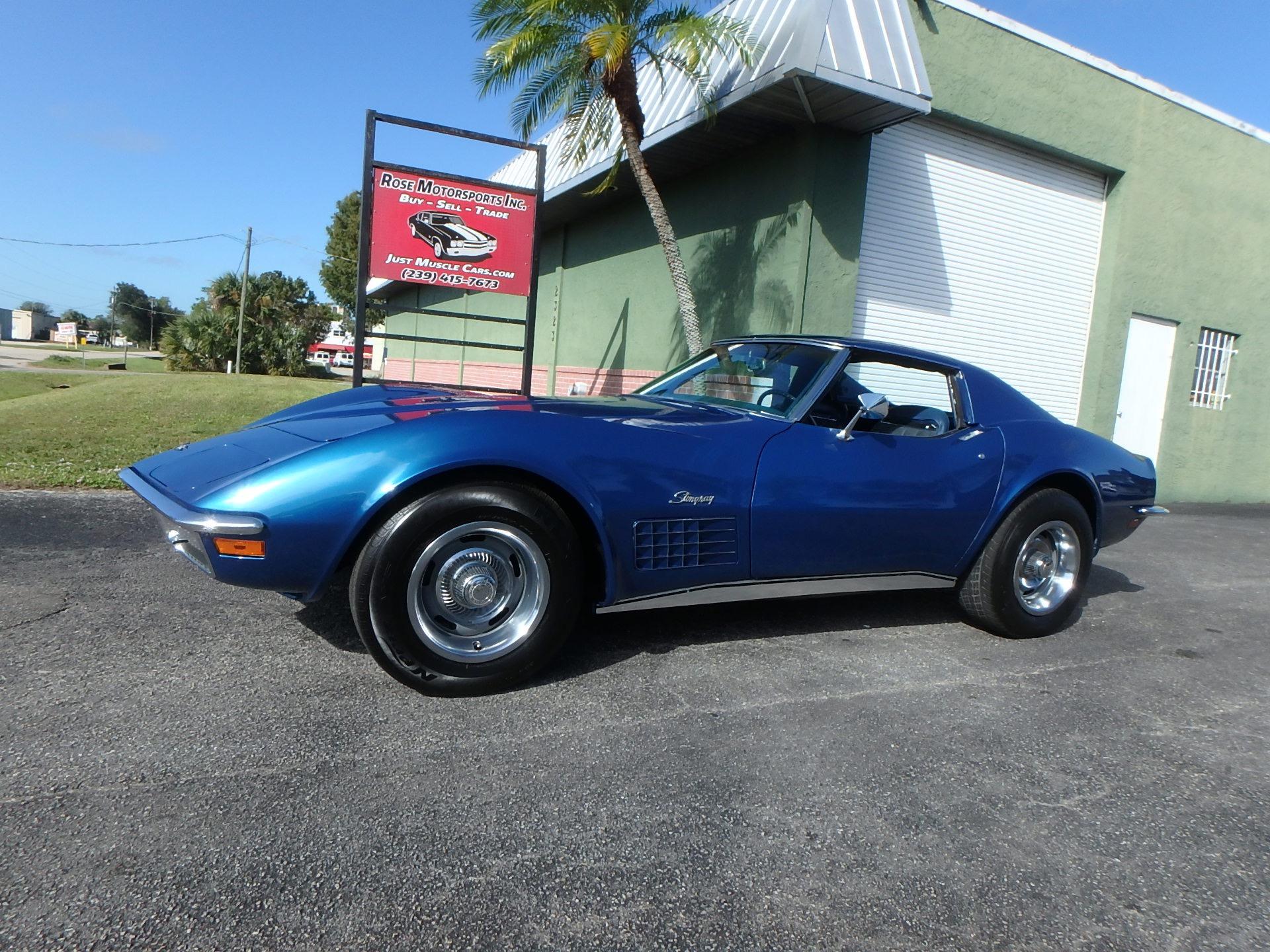 Used 1971 Chevy Corvette Stingray