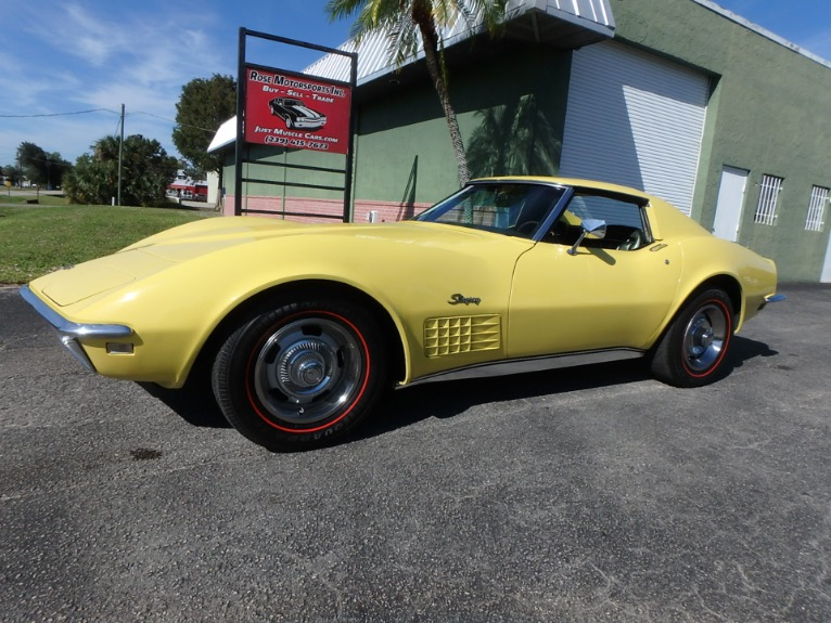 Used 1970 Chevy Corvette for sale $25,900 at Rose Motorsports, Inc. in Fort Myers FL
