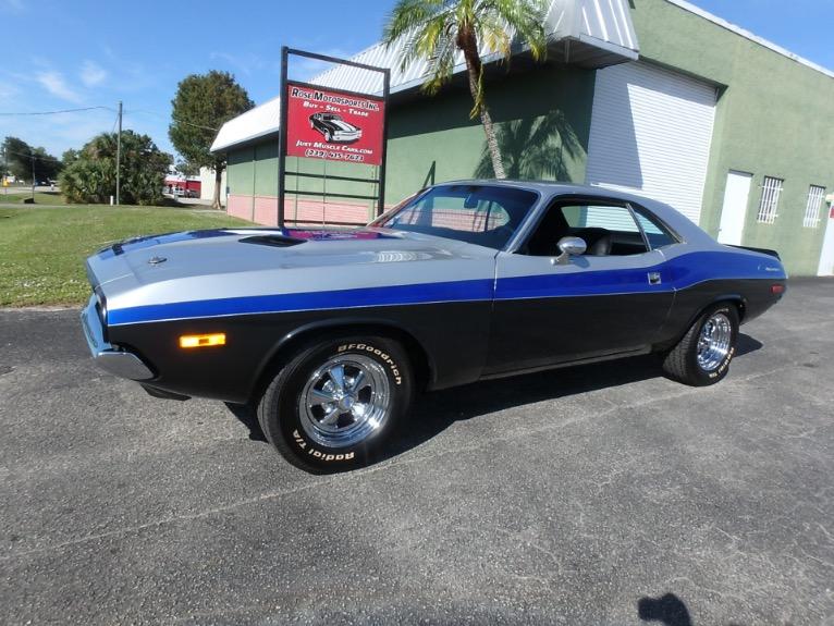 Used 1972 Dodge Challenger for sale $27,900 at Rose Motorsports, Inc. in Fort Myers FL