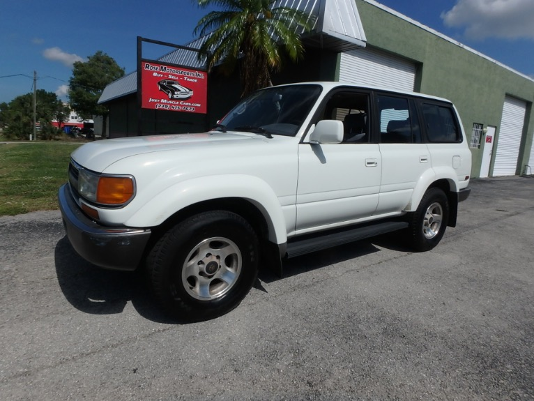 Used 1994 Toyota Land Cruiser for sale $7,500 at Rose Motorsports, Inc. in Fort Myers FL