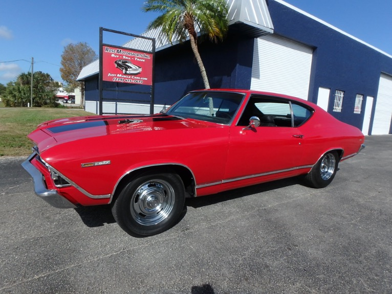 Used 1969 Chevy Chevelle V8 for sale $22,900 at Rose Motorsports, Inc. in Fort Myers FL