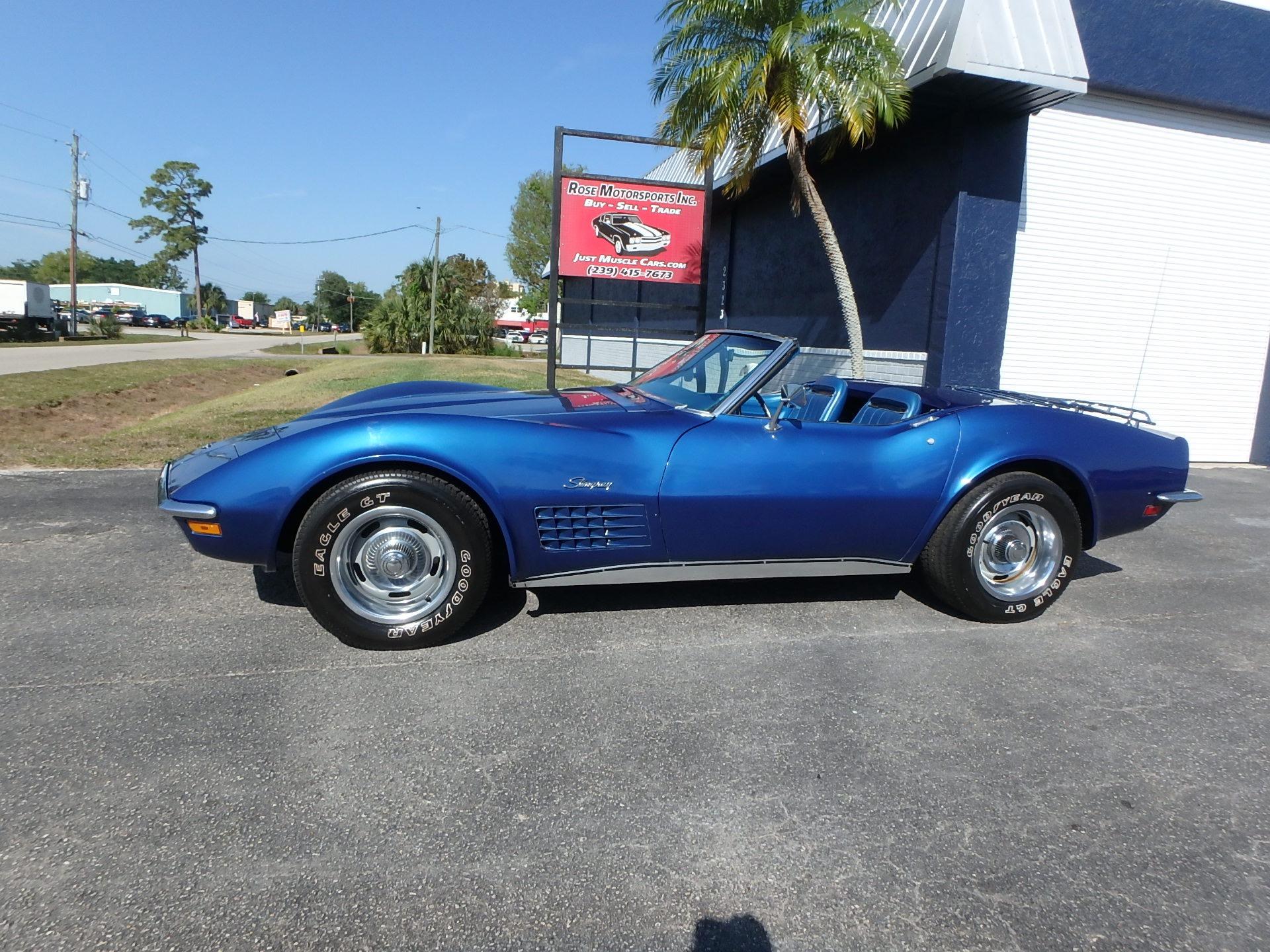 Used 1971 Chevy Corvette Convertible