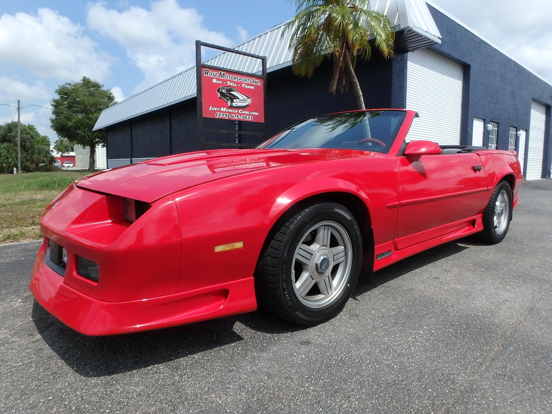 Used 1991 Chevrolet Camaro Z28