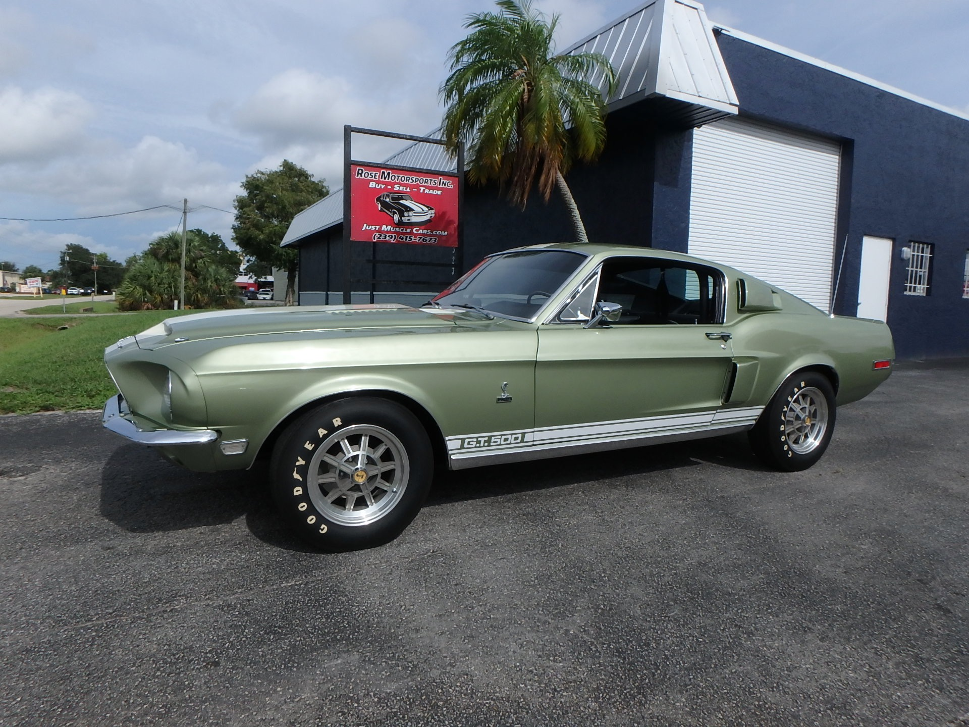 Used 1968 Ford Mustang GT500 Fastback