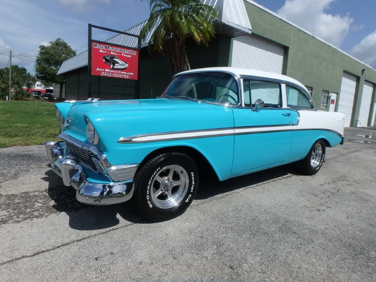 Used 1956 CHEVY Bel Air for sale $37,500 at Rose Motorsports, Inc. in Fort Myers FL