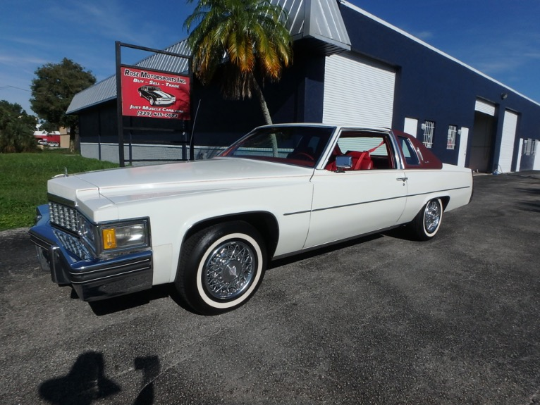 Used 1977 Cadillac Coupe Deville for sale $14,900 at Rose Motorsports, Inc. in Fort Myers FL