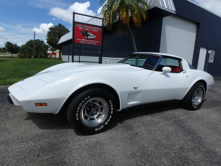 Used 1979 Chevy Corvette Stringray for sale $15,900 at Rose Motorsports, Inc. in Fort Myers FL