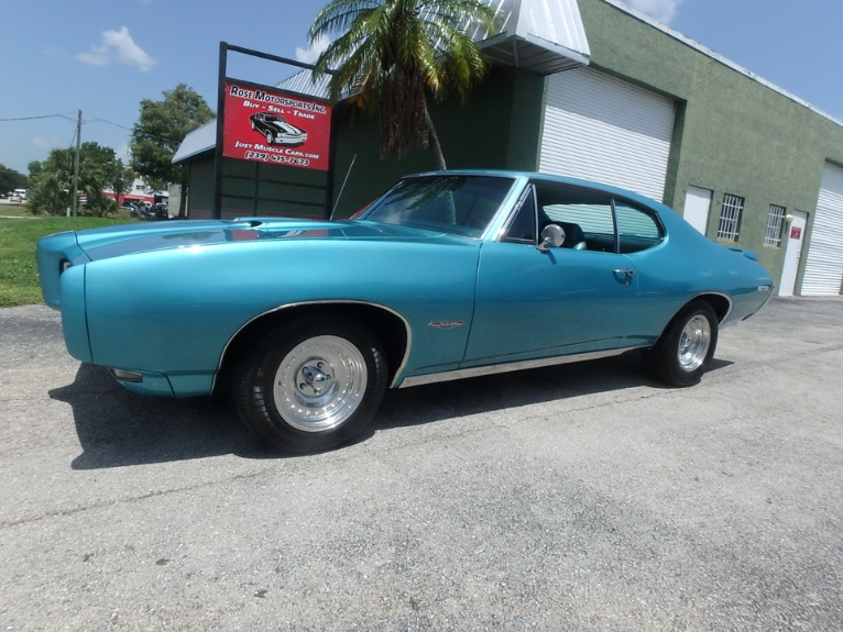 Used 1968 Pontiac GTO for sale $24,900 at Rose Motorsports, Inc. in Fort Myers FL