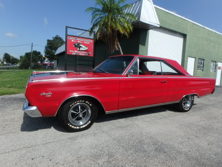 Used 1966 Plymouth Satellite GTX for sale $18,900 at Rose Motorsports, Inc. in Fort Myers FL